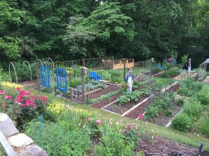 Ramsey Garden-Combining practical and whimisical
