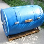 Homemade Compost Tumbler_Josh Santelli_CC BY-NC 2.0_Flickr