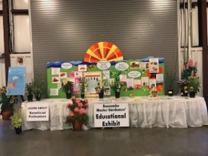 2018 Flower Show Educational Exhibit
