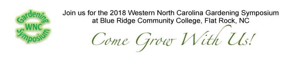 2018 WNC Gardening Symposium