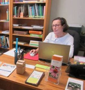 Calls to Garden Helpline are answered by Buncombe County Master Gardener volunteers.