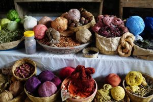Naturally dyed cotton_by Lucia Garcia Gonzalez_CC 1.0_Flickr